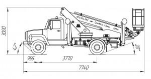 ПСС-131.18Э ГАЗ-3309 (1 каб.)