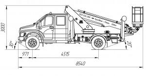 ПСС-131.18Э ГАЗ-C42R31 (ГАЗон Next) (2 каб.)
